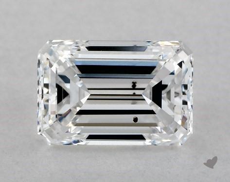 1.01 Carat D-SI1 Emerald Cut Diamond