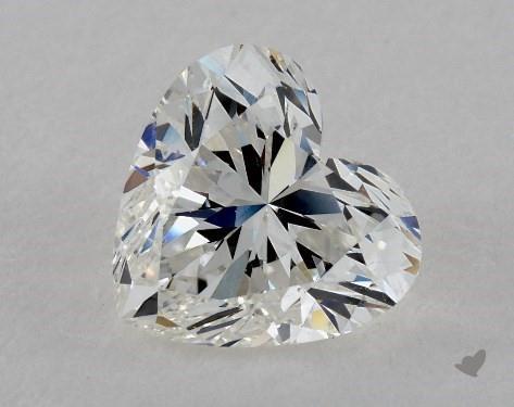 2.40 Carat H-SI1 Heart Shape Diamond