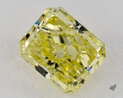 2.30 Carat  yellow-VS1 Radiant Cut Diamond