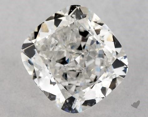1.00 Carat G-SI1 Cushion Modified Cut Diamond