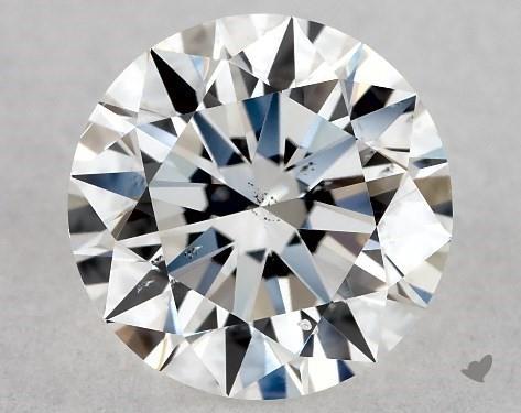 1.01 Carat E-SI1 Excellent Cut Round Diamond
