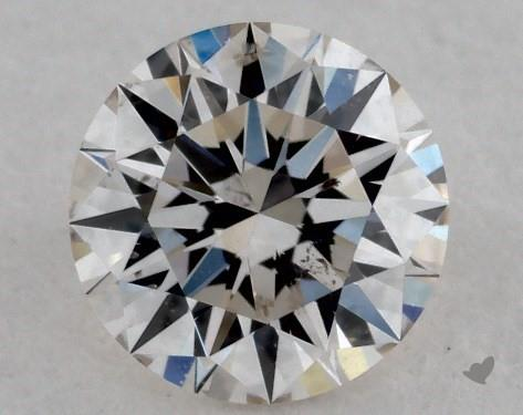 0.30 Carat H-SI2 Excellent Cut Round Diamond