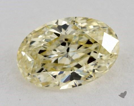 1.64 Carat  yellow-VS2 Oval Cut Diamond
