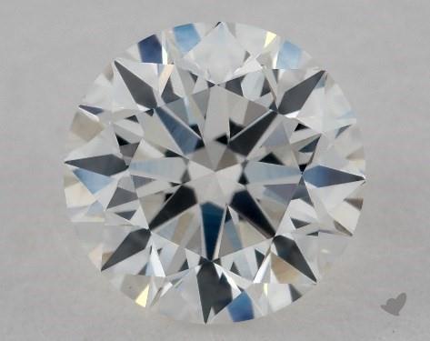 0.96 Carat G-VS2 Excellent Cut Round Diamond