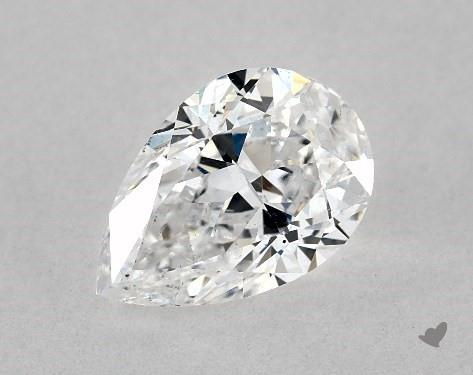 1.01 Carat D-SI1 Pear Shape Diamond