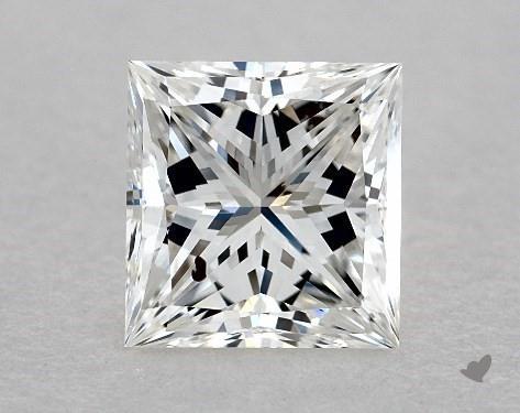 1.09 Carat G-SI1 Ideal Cut Princess Diamond
