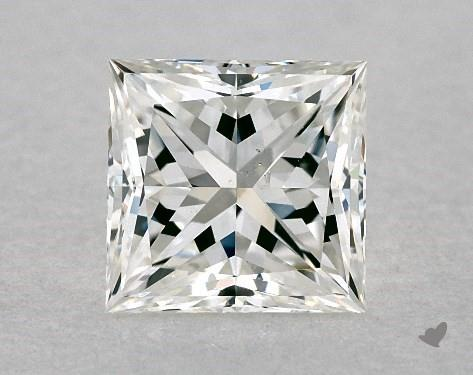 1.01 Carat G-SI1 Ideal Cut Princess Diamond