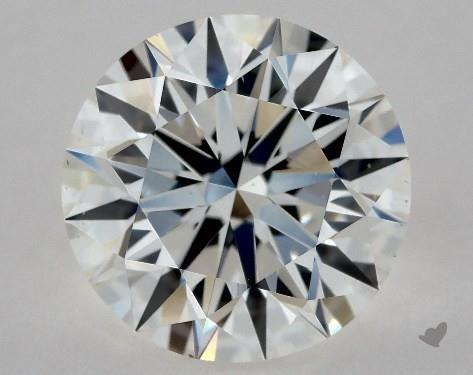 1.53 Carat F-VS2 True Hearts<sup>TM</sup> Ideal Diamond