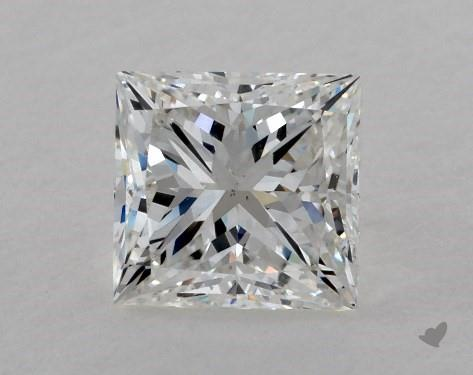 1.51 Carat F-VS2 Ideal Cut Princess Diamond