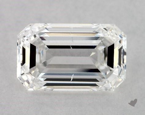 1.02 Carat E-SI1 Emerald Cut Diamond