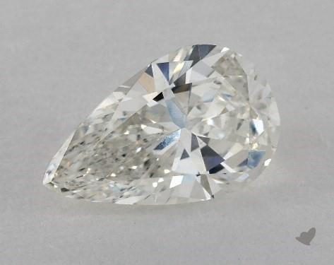 2.01 Carat G-SI1 Pear Shape Diamond