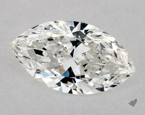 1.00 Carat G-SI1 Marquise Cut Diamond