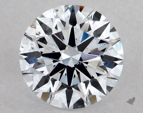 Lab-Created 1.10 Carat H-SI1 Ideal Cut Round Diamond