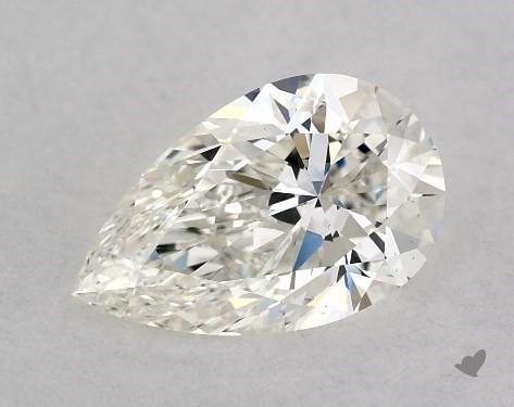1.00 Carat H-VS2 Pear Shape Diamond