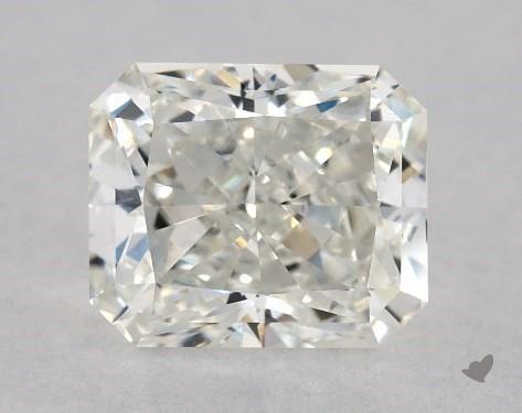 1.01 Carat H-VVS2 Radiant Cut Diamond