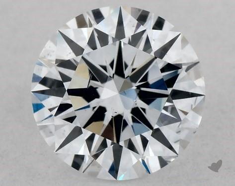 Lab-Created 1.00 Carat G-SI1 Ideal Cut Round Diamond