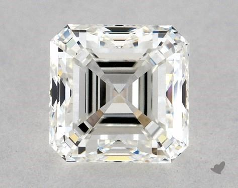1.00 Carat H-VVS2 Square Emerald Cut Diamond