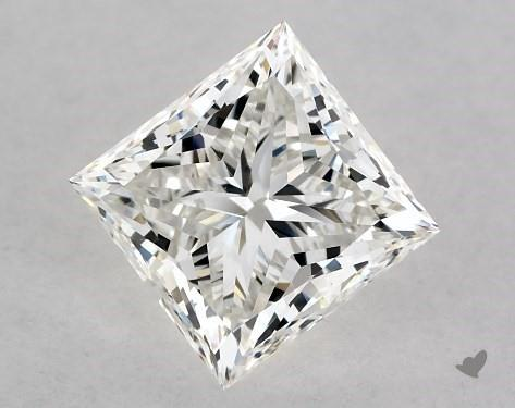 1.03 Carat H-SI1 Ideal Cut Princess Diamond