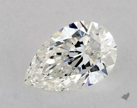 1.01 Carat H-SI1 Pear Shape Diamond