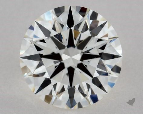 1.03 Carat H-VS2 True Hearts<sup>TM</sup> Ideal Diamond