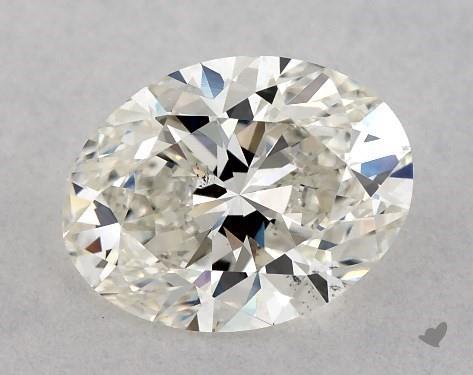 1.03 Carat H-VS2 Oval Cut Diamond