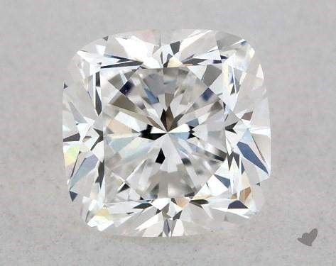 0.51 Carat F-VVS2 Cushion Cut Diamond