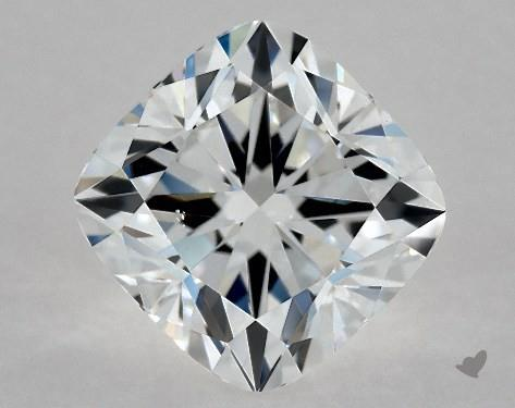 1.70 Carat E-SI1 Cushion Modified Cut Diamond