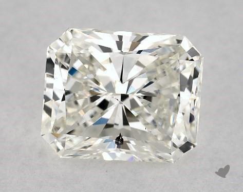 1.00 Carat H-SI1 Radiant Cut Diamond