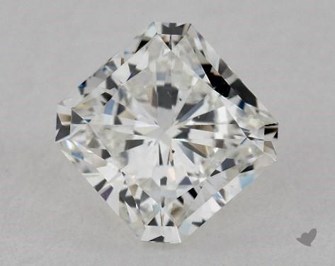 1.75 Carat F-VS2 Radiant Cut Diamond