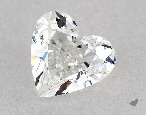 1.05 Carat G-SI1 Heart Shape Diamond