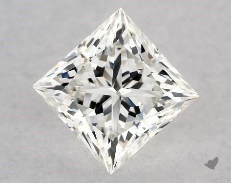1.00 Carat H-VS1 Ideal Cut Princess Diamond