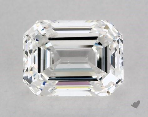 1.00 Carat E-SI1 Emerald Cut Diamond