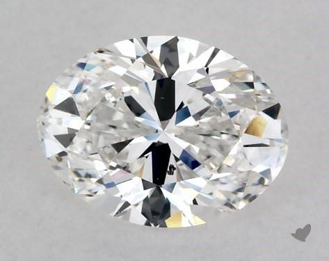 1.02 Carat E-SI1 Oval Cut Diamond