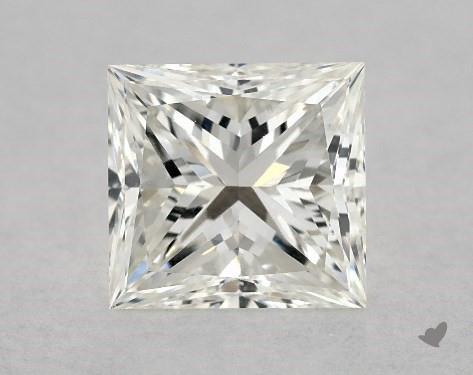 1.04 Carat H-VS2 Ideal Cut Princess Diamond