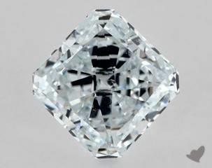 radiant0.57 Carat BLUESI1