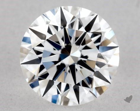 1.09 Carat D-VVS1 Excellent Cut Round Diamond