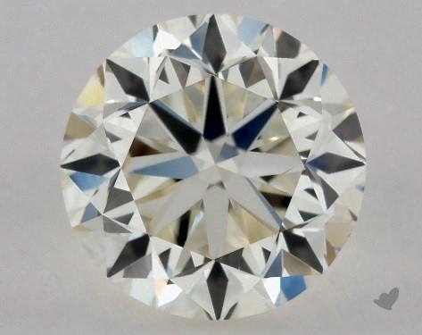 0.70 Carat K-VS2 Good Cut Round Diamond