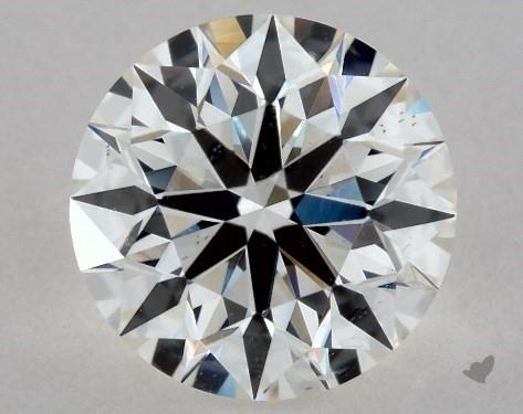 1.00 Carat G-VS2 True Hearts<sup>TM</sup> Ideal Diamond