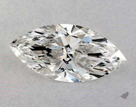 1.00 Carat H-SI1 Marquise Cut Diamond