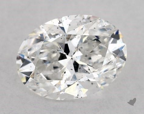 1.02 Carat D-SI1 Oval Cut Diamond