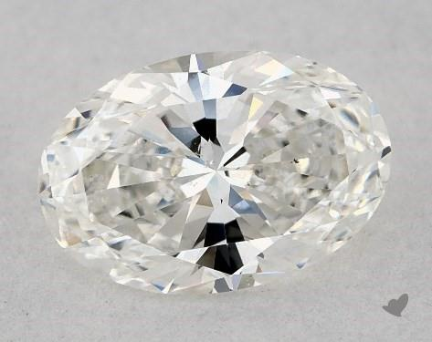 1.03 Carat G-SI1 Oval Cut Diamond