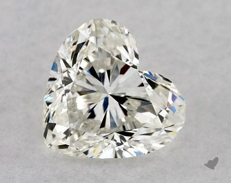 1.00 Carat H-VS2 Heart Shape Diamond