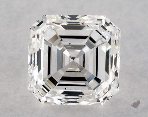 1.01 Carat F-SI1 Asscher Cut Diamond