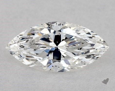 1.00 Carat F-SI1 Marquise Cut Diamond
