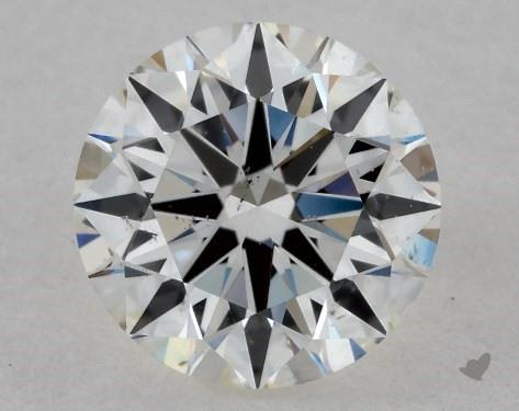 0.70 Carat H-SI1 True Hearts<sup>TM</sup> Ideal Diamond