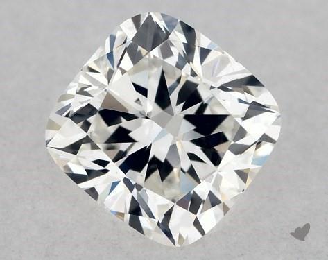 0.40 Carat G-VVS1 Cushion Cut Diamond