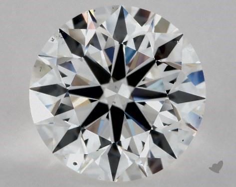 3.01 Carat E-VS2 Excellent Cut Round Diamond