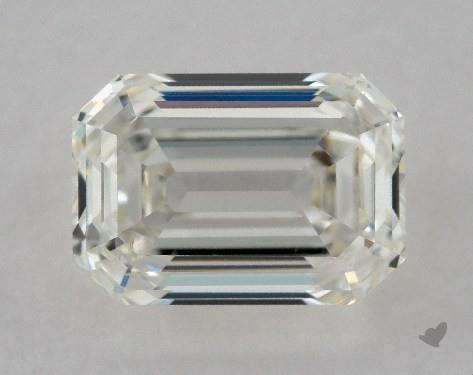 0.70 Carat I-VS2 Emerald Cut Diamond