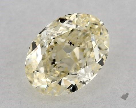 0.55 Carat Oval Diamond by James Allen