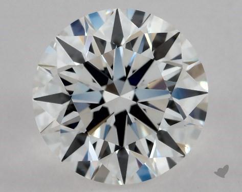0.85 Carat E-VS1 Excellent Cut Round Diamond